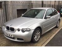 BMW 3 Series Compact 1.8 2004 LOW MILEAGE
