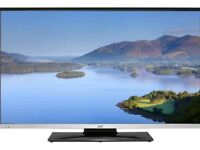 JVC LT-40C755 Smart 40 Inch LED TV with Built-in DVD Player