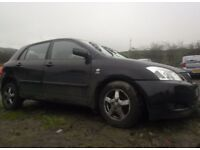 BREAKING 2004 TOYOTA COROLLA 2L D4D - NO TEXTS PLEASE - NEWRY / ARMAGH