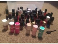 Gel and nail polishes