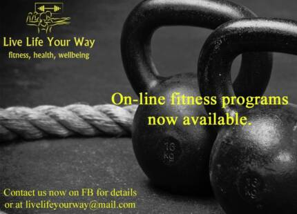Personal Trainer Sessions (on-line and face to face)