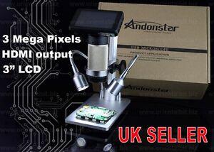 Andonstar HDMI USB Digital Microscope Long working distance PCB soldering repair