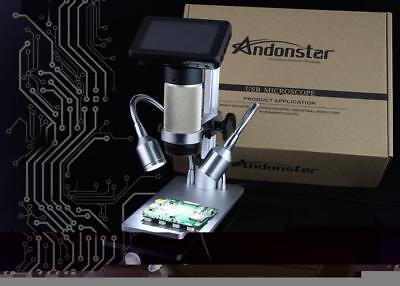 Andonstar Adsm201 Hdmi Microscope Camera- True Digital Hd Imaging At 1920x1080p