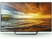 "Sony 40"" Led smart wifi HD freeview full hd 1080p new model series"