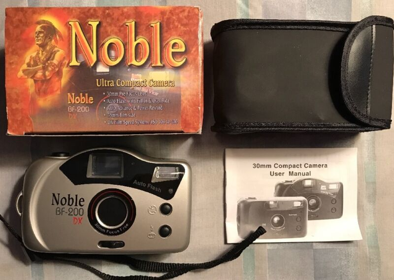 Noble Cigarettes / Tobacco Memorabilia 35 mm Camera RARE New In Box
