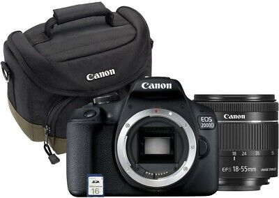 Canon Spiegelreflexkameras EOS 2000D Value Kit (EF-S 18-55mm)