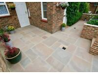 Raj Green Cedar Indian Sandstone Paving Slabs Patio Slabs Patio Paving Stone