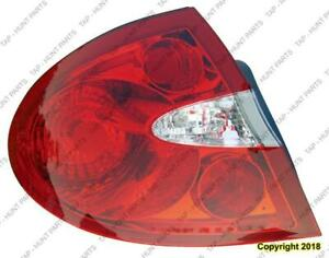 Tail Light Driver Side Buick Allure 2005-2009
