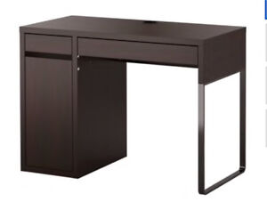 IKEA MICKE Desk black brown and Chair
