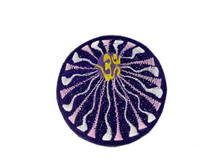 image is loading ecusson brode mandala fleur om tribal bouddhiste sd2m