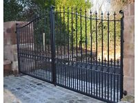 Gates and railings, structural steel work, plant and bucket repair, all welding and fabrication