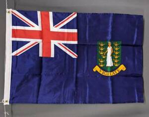 British Virgin Islands flag: printed polyester. 90 x 150 cm/ 3x2' NEW Marrickville Marrickville Area Preview