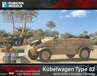 Rubicon Models: 280072 German Kübelwagen Type 82 - Bolt Action WW2 Games ()
