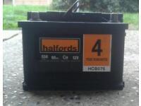 Car battery 12v halfords