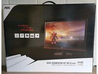 "AOC 2460VQ6 24"" 1MS 75Hz 1080p Gaming Monitor"