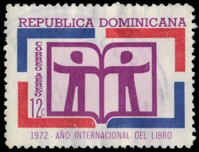 "DOMINICAN REPUBLIC C191 - International Book Year ""Airmail"" (pf10746)"