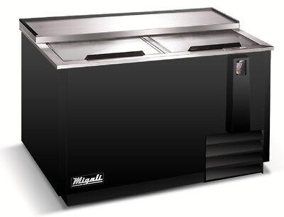 Migali C-hbc50-hc Horizontal Bottle Cooler Back Bar Beer Refrigerator 50