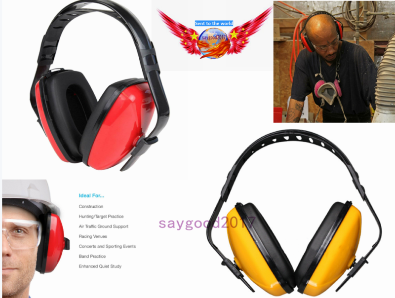 noise cancelling ear muffs safety shooting defenders