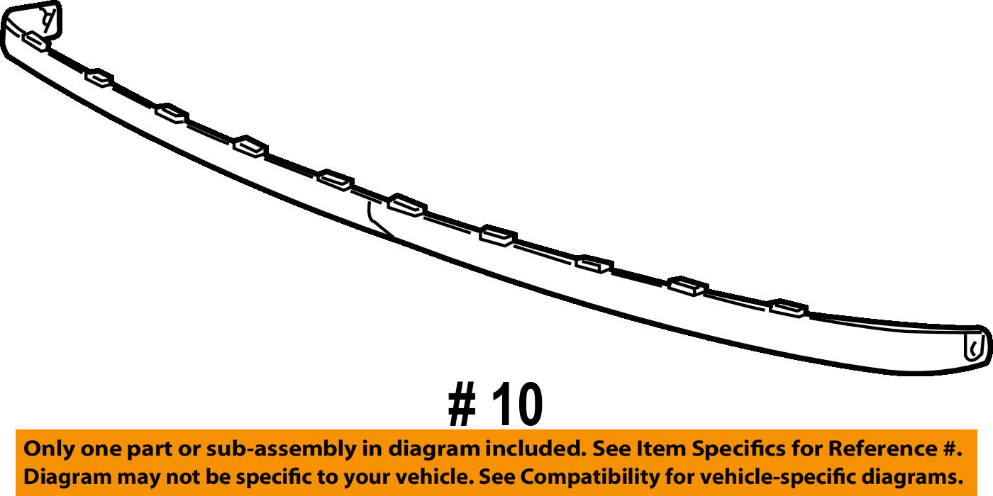 Chevrolet Gm Oem Trailblazer Front Bumper Spoiler Lip Chin Splitter 4 2 L6 Engine Diagram Of See More
