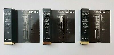 3 mini mascara le volume 3d révolution de Chanel 10 noir 3×1,5gr