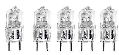 Anyray 5-Pack 20 Watt Xenon G8 20w 20 watt 120V T4 Light Bulbs JCD 120