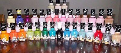 Sally Hansen no light required miracle gel nail polish colors or top coat -