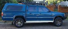 Ford Courier 4WD Twin Cab Ute,LPG/petrol,backpacker vehicle Woolloongabba Brisbane South West Preview