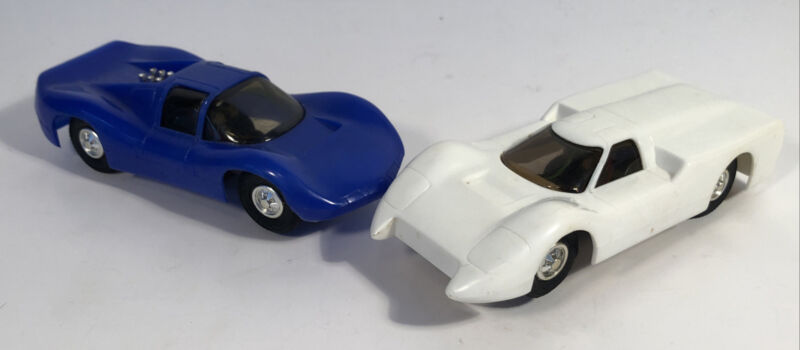 2 Eldon Slot Cars Ford J Chaparral 1/32 Scale