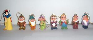 Disney Snow White and the Seven Dwarfs Christmas Ornament Set NEW! Spring Sale!