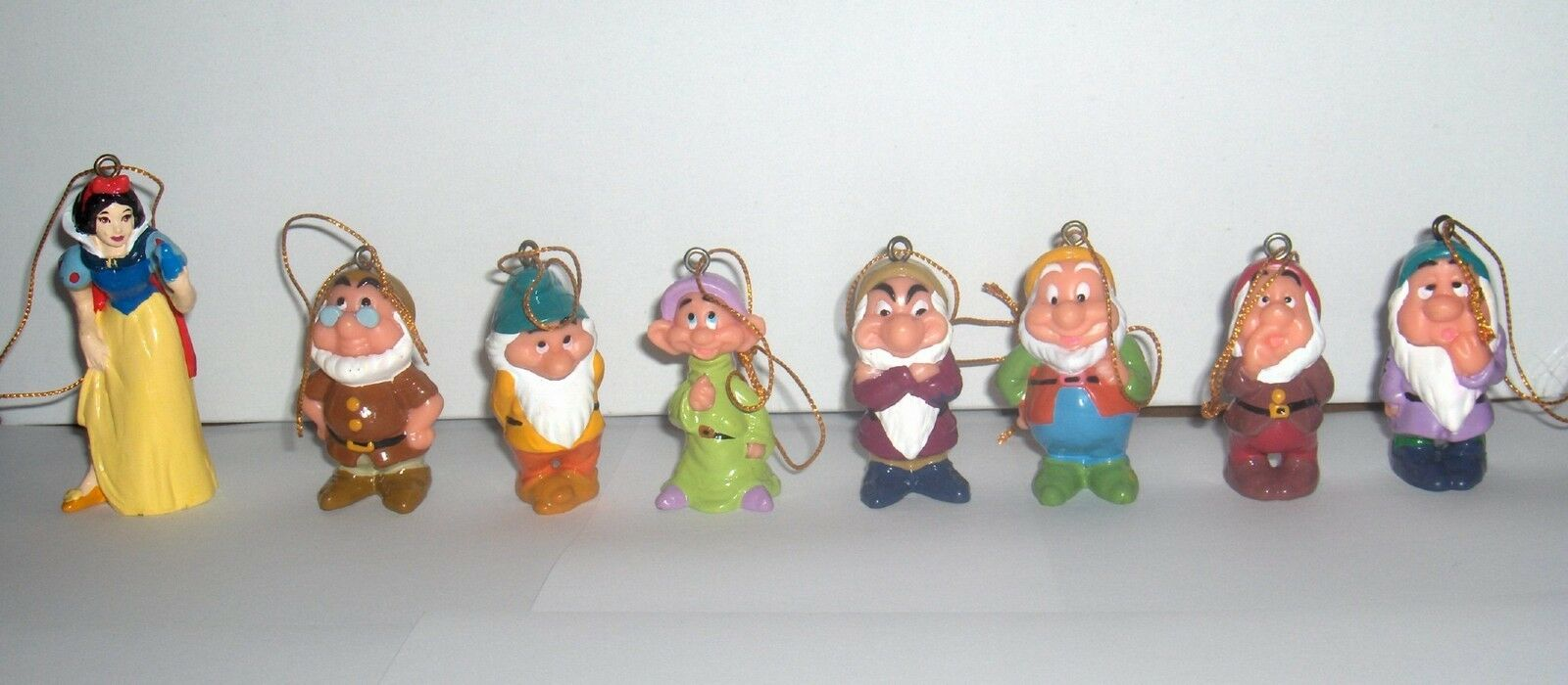 Disney Snow White and the Seven Dwarfs Christmas Ornament Set NEW! Fall Sale!