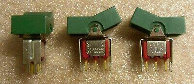 Ck 7201 Spdt Big Green Rocker Switch Pc Pin Mount - New