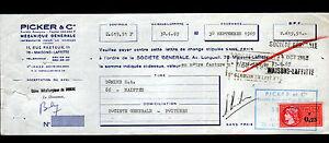 """MAISONS-LAFFITTE (78) MECANIQUE GENERALE pour la MARINE """"PICKER"""" en 1969 - France - État : Occasion : Objet ayant été utilisé. Consulter la description du vendeur pour avoir plus de détails sur les éventuelles imperfections. Commentaires du vendeur : """"CORRECT"""" - France"""