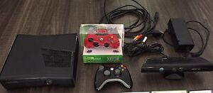 XBOX 360 with Kinect, Games & $25 Gift Card