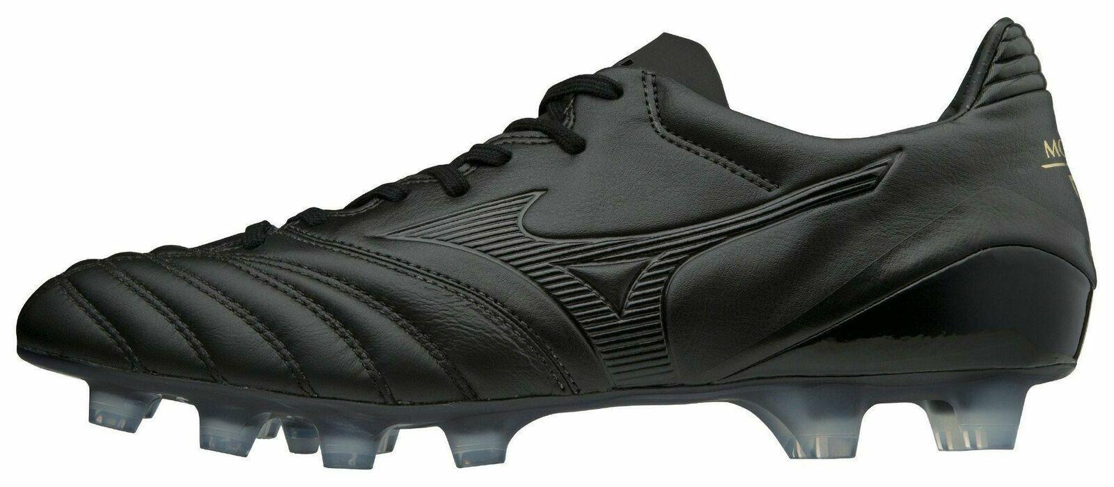 Mizuno Morelia Neo KL II MD Men's Soccer Shoes Cleat ALL BLA