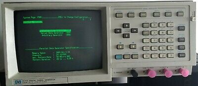 Hp8175a Opt.002 Digital Signal Arbitrary Waveform Generator With Manuals