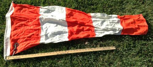"Used USCG or USN Regulation 22"" x 48"" x 9"" Signal Pennant Flag - ANSWER"