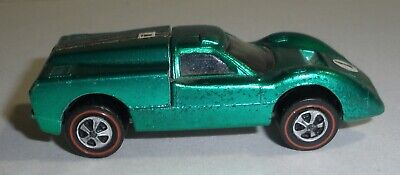 Hot Wheels redline Ford J in green nice condition