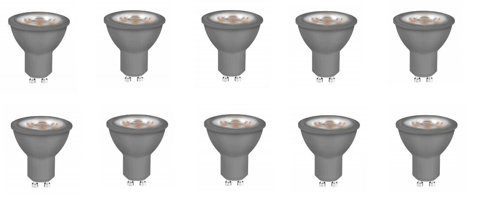 10x Neolux LED Reflektorlampen GU10 kaltweiß 4,7W=50W EEK A+ (Spektrum A++bis E)