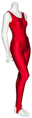 Red Dance Halloween Devil Fancy Dress Catsuit Costume Outfit KDC011 By Katz