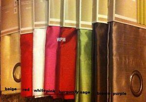2-Grommet-Panels-Faux-Silk-Window-Curtain-drape-60-x84
