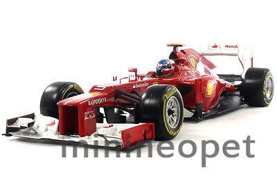 Hot Wheels X5520 Ferrari F1 Formula 1 F2012 Team 1/18 Diecast Fernando Alonso 5