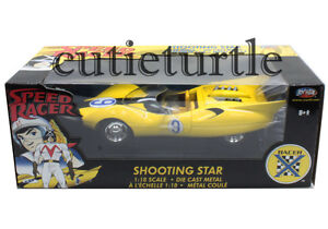 Ertl Speed Racer X Shooting Star Replica 1:18 Yellow