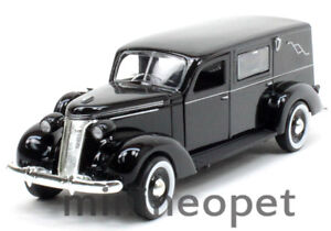 THE PHOENIX MINT 1937 37 STUDEBAKER HEARSE 1/43 DIECAST BLACK