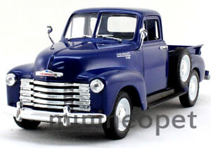 WELLY 1953 53 CHEVROLET 3100 PICK UP TRUCK 1/24 DIECAST BLUE