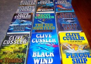 PATTERSON- CUSSLER BOOKS Kingston Kingston Area image 3