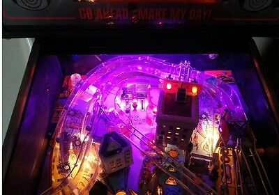 DIRTY HARRY JOHNNY MNEMONIC CORVETTE ADDAMS FAMILY Pinball playfield light Mod