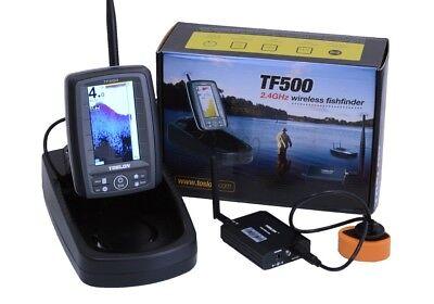 Toslon TF500 Colour Wireless Bait Boat Fishfinder NEW Fishing Sonar 2019 Version