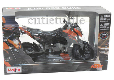 Maisto KTM 690 Duke Dirt Bike 1:12 Orange
