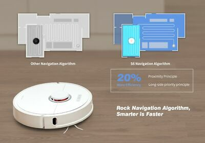 Hot Best Smart Vacuum Cleaner 2in1 Roborock S6 LDS Sweep& Mop White/Blac EU