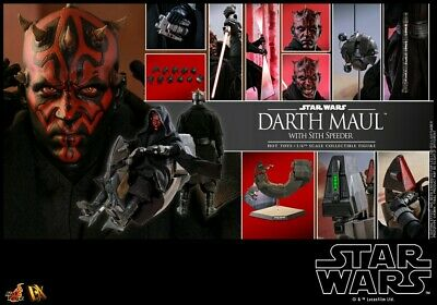Hot Toys Star Wars Darth Maul DX17 Deluxe 1/6 Figure - New & Sealed with shipper